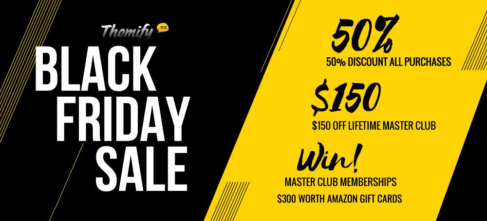 themify black friday sale